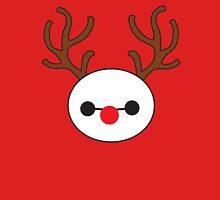 Reindeer Baymax Womens Fitted T-Shirt