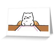Neko atsume tubbs Greeting Card