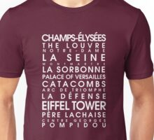 Paris City Roll Unisex T-Shirt