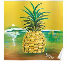 Pineapple Life Poster