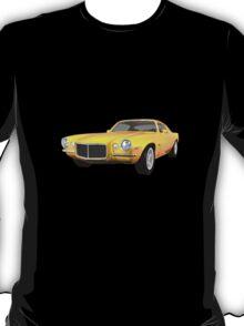 Yellow 1972 Camaro  T-Shirt