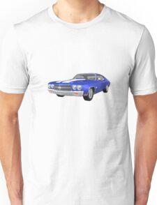Blue 1970 Chevelle SS Unisex T-Shirt