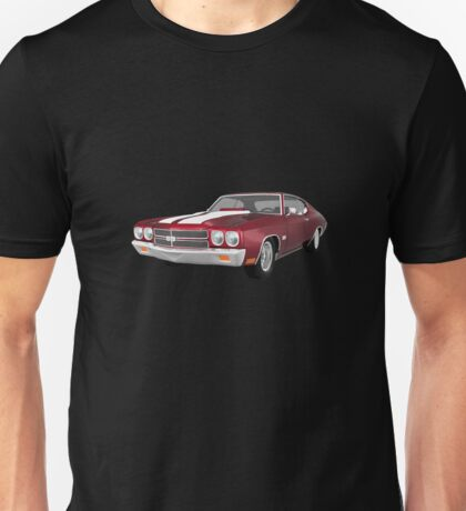 Candy Apple 1970 Chevelle SS Unisex T-Shirt