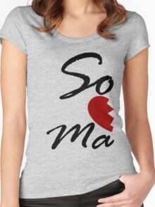 Soul Mate - Right Women's Fitted Scoop T-Shirt