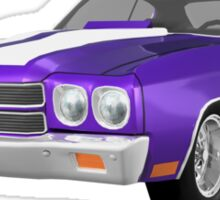 Purple 1970 Chevelle SS Sticker