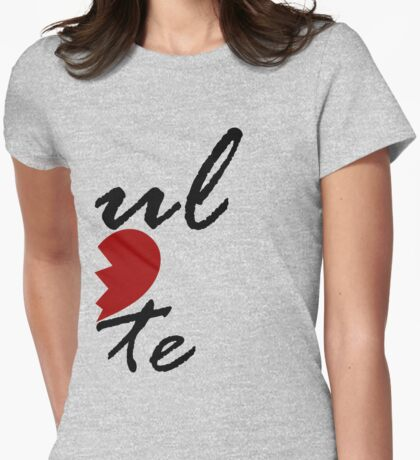 Soul Mate - Left Womens Fitted T-Shirt