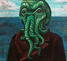 Man from Innsmouth by aglastudio