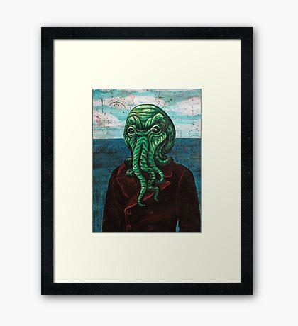 Man from Innsmouth Framed Print