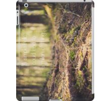 a simple hello could lead to a million things iPad Case/Skin