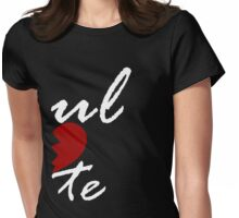 Soul Mate - Left Black Womens Fitted T-Shirt