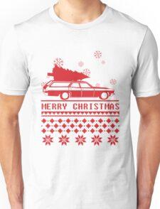 Christmas tree wagon full sweater Unisex T-Shirt