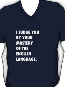 English Language T-Shirt
