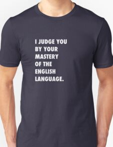English Language Unisex T-Shirt