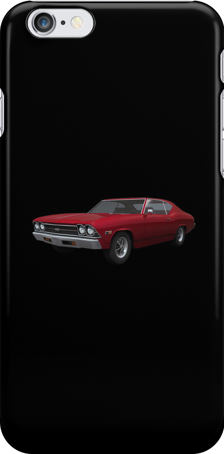 Candy Apple 1969 Chevelle SS by bradyarnold