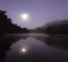 Pre Dawn Moonlight by Carolyn  Fletcher