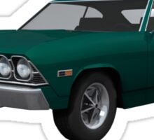 Green 1969 Chevelle SS Sticker