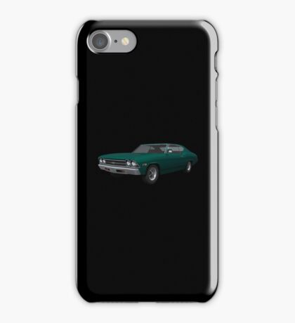 Green 1969 Chevelle SS iPhone Case/Skin