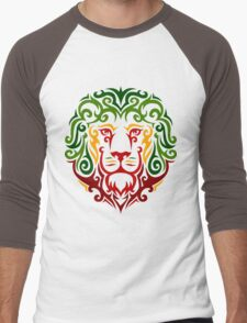RastaLion Men's Baseball ¾ T-Shirt