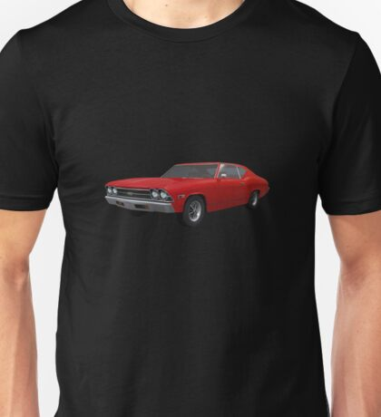 Red 1969 Chevelle SS Unisex T-Shirt