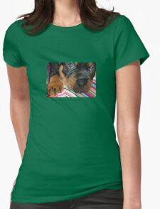 Young Female Rottweiler Making Eye Contact T-Shirt
