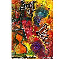 Joyfully Living Life Anew Photographic Print