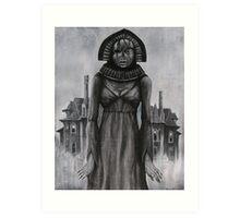 Banshee Bride Art Print