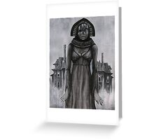 Banshee Bride Greeting Card