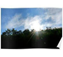 Catskill Mountains Sun Poster