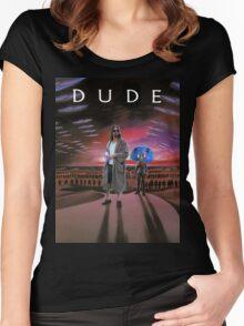 DUDE/DUNE Women's Fitted Scoop T-Shirt