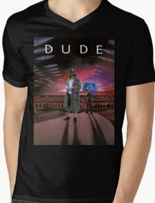 DUDE/DUNE Mens V-Neck T-Shirt