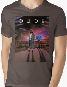 DUDE/DUNE Mens V-Neck T-Shirt