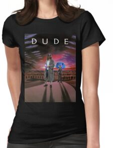 DUDE/DUNE Womens Fitted T-Shirt