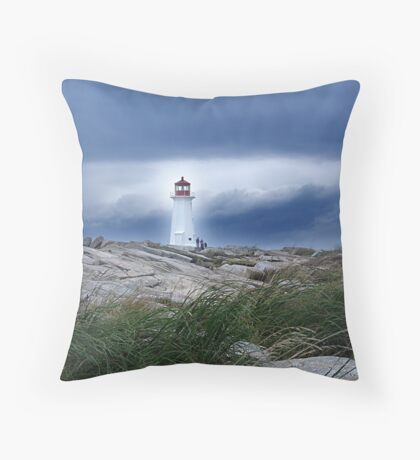 Against The Storm Throw Pillow
