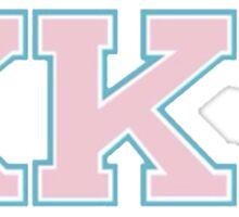 Kappa Kappa Tau - Scream Queens Sticker