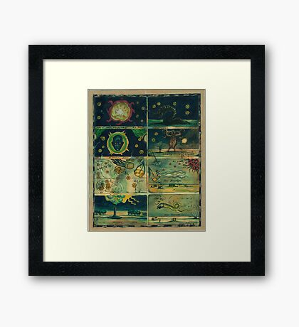 The Stars are Right Framed Print