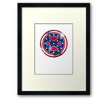 Captain Confederate Framed Print