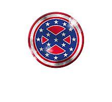 Captain Confederate Photographic Print