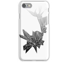Monochrome Triangles iPhone Case/Skin