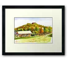Pilot Knob Mountain 2 Framed Print