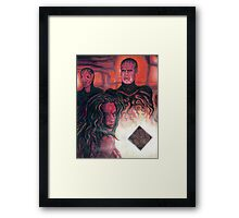 Hellraiser Girl Framed Print