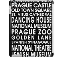 Prague City Roll iPad Case/Skin