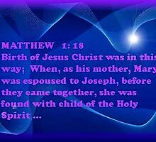 MATTHEW I :18 by Ann Warrenton