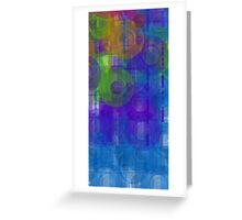 Colorful 19 Greeting Card
