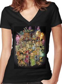 Lil' X Women's Fitted V-Neck T-Shirt