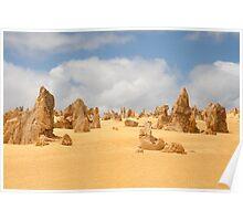 The Pinnacles at Nambung National Park Western Australia Poster