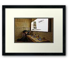 Mac Book Tester Framed Print