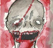 Zombie Painting  by MasonDeaverArt