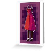 devil knows Greeting Card