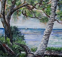 Window on Pine Island by AnfinsenArt