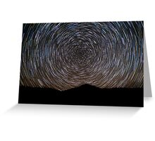 Flagstone Creek Startrails Greeting Card